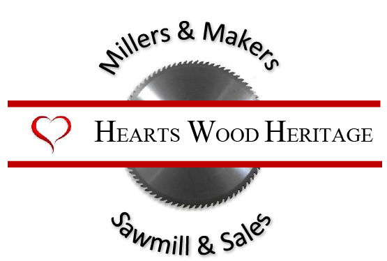 Hearts Wood Heritage Logo